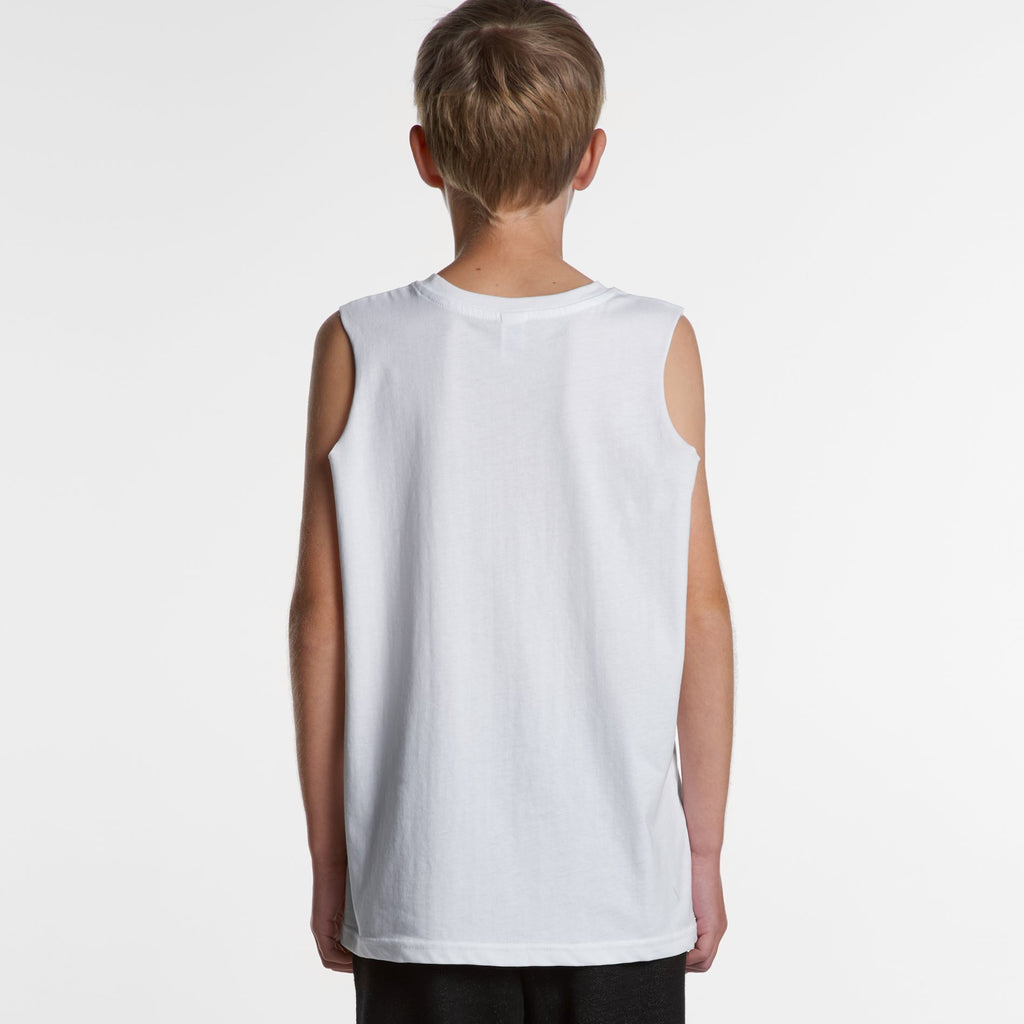 Teen Sleeveless Tank-Kids Singlets & Tanks-The Tshirt Studio
