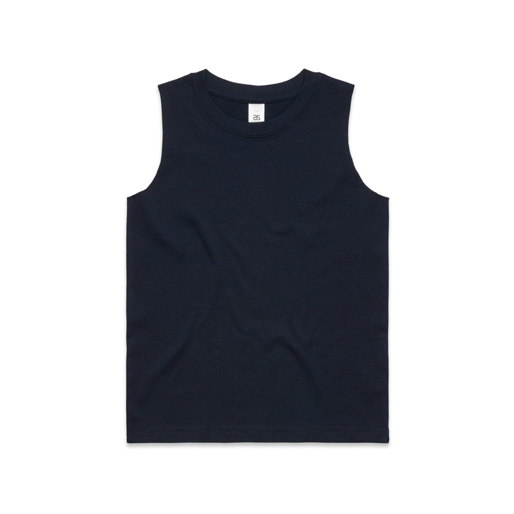 Youth Sleeveless Tank - Navy