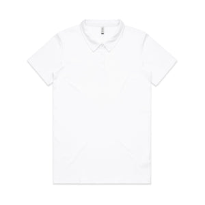 Womens Amy Polo shirt - White