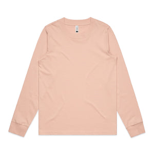 Womens Dice Long Sleeve Tshirt - Pink