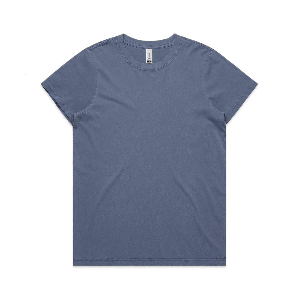 Womens Faded Tshirt - Faded Blue