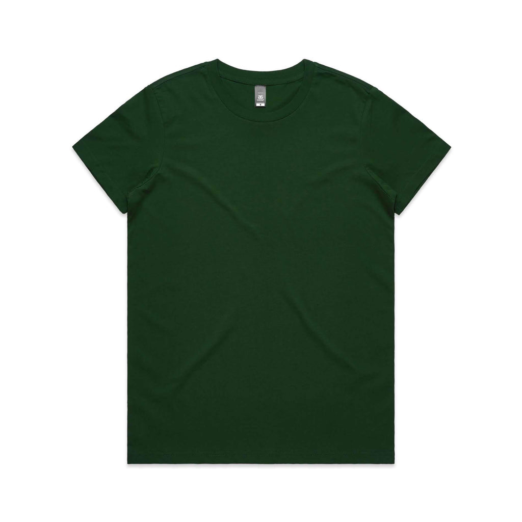 Womens Premium Tshirt - Forest Green