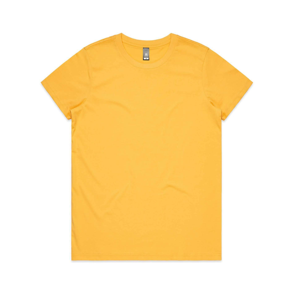 Womens Premium Tshirt - Yellow