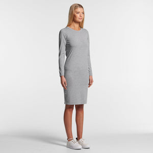 Womens Mika Organic Long Sleeve Dress