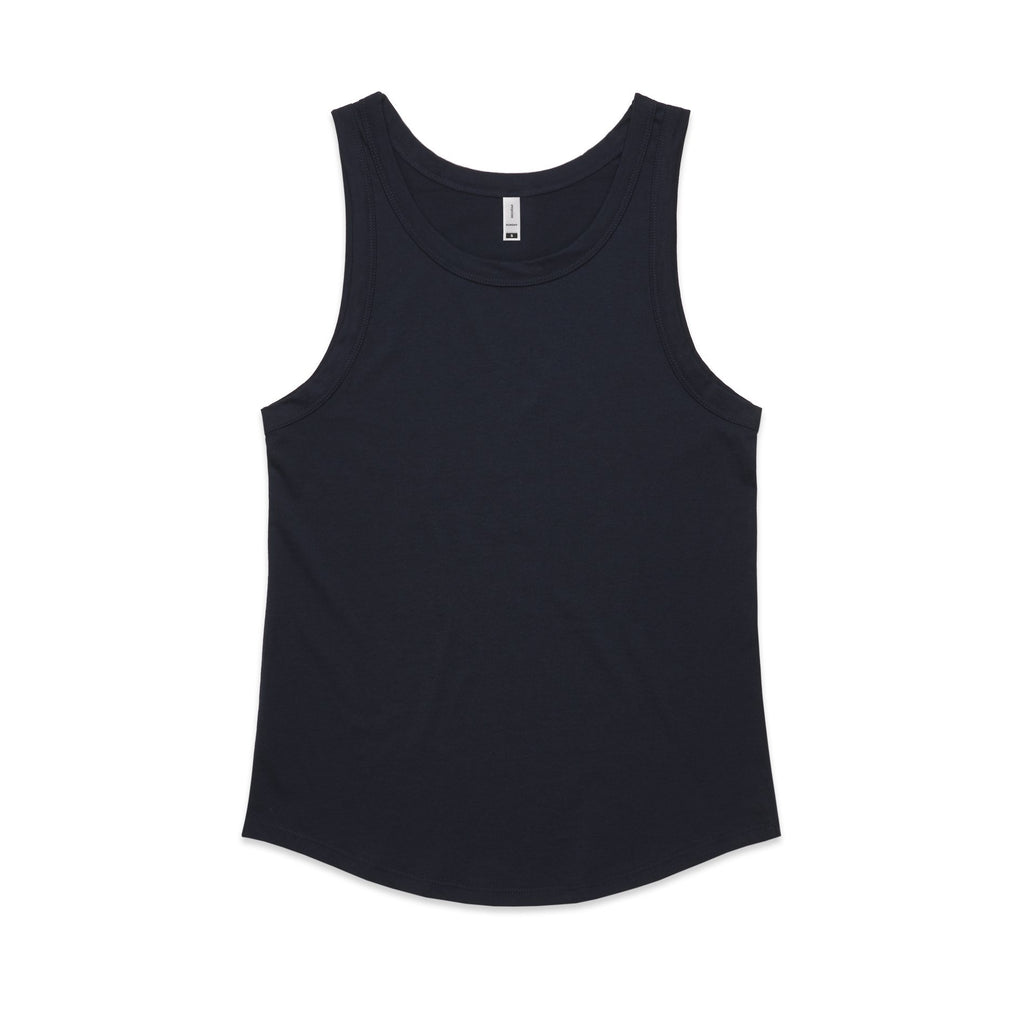 Womens Sunday Singlet - Navy