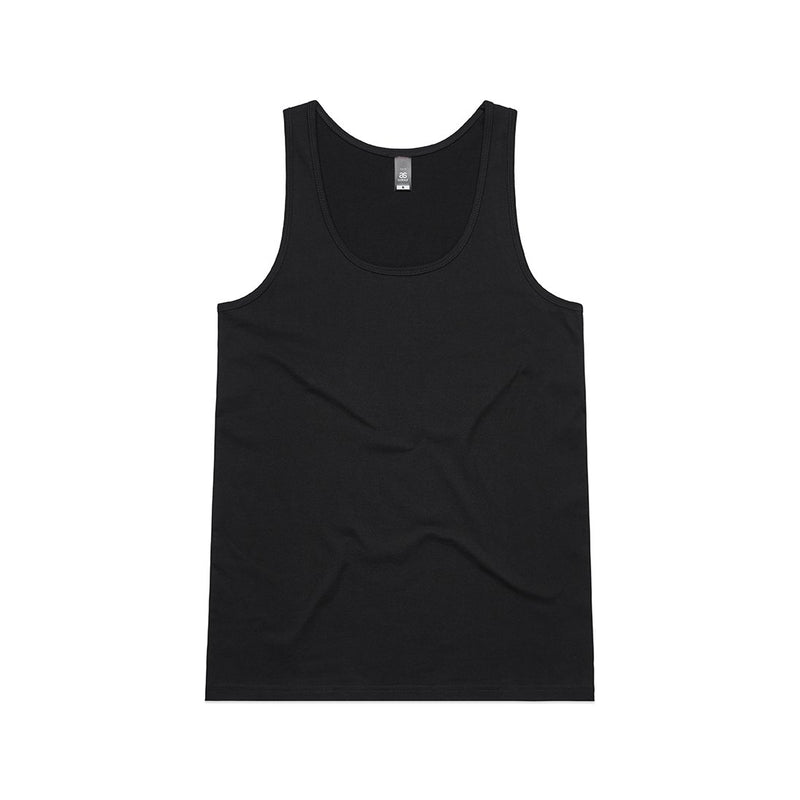 Womens Tulip Singlet - Black