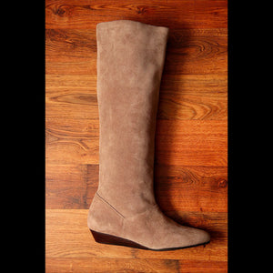 Taupe Suede Calf Vintage Boot (6)