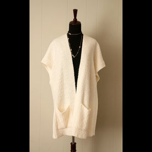 Off-White Shephard Vintage Cardigan Sweater (OS)
