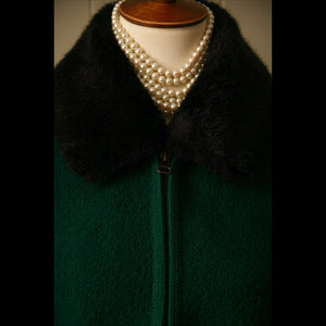 Hunter Fur Collar Vintage Vest (M/L)