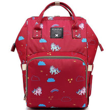 Load image into Gallery viewer, Unicorn Pattern Baby Nappy Bag