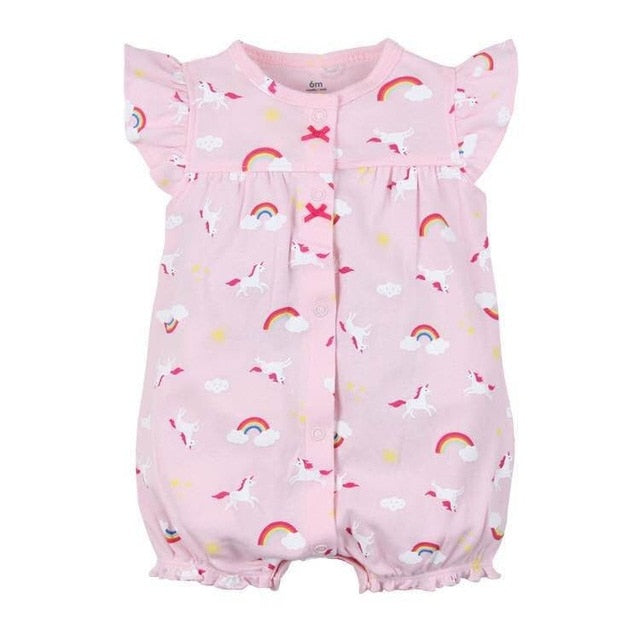 Girls Dinosaur Patterned Jumpsuit