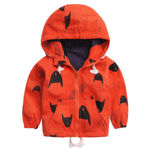 Thin or Thick Winter Fleece Hooded Windbreaker