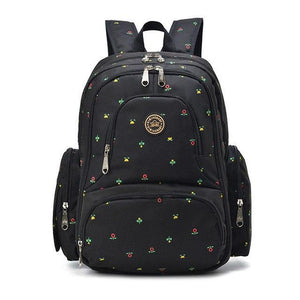 Large Travel Nappy Backpack with 6 Compartments