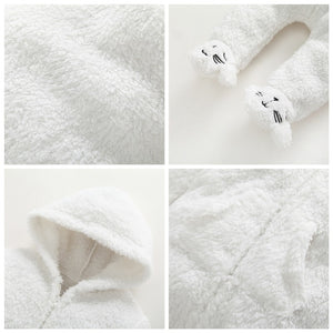 Thick Warm Long-Sleeve Sleep Suit