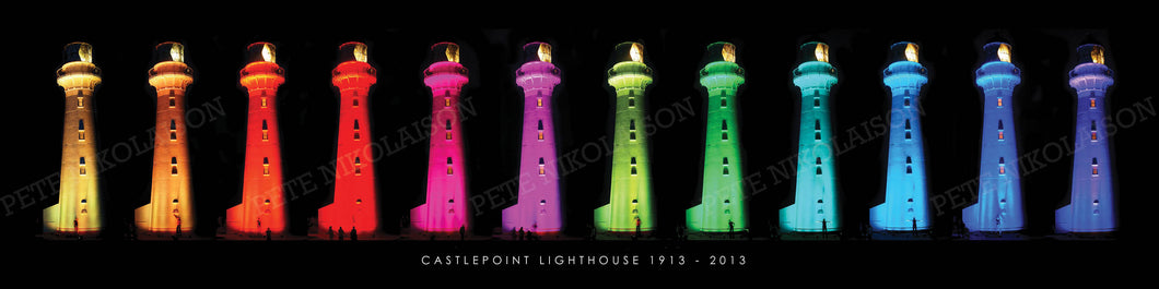 CASTLEPOINT LIGHTHOUSE, 100 YEARS ANNIVERSARY