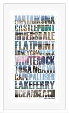 Load image into Gallery viewer, Wairarapa Coastal Words