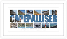 Load image into Gallery viewer, CAPE PALLISER WORD COASTAL MONTAGE