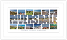 Load image into Gallery viewer, RIVERSDALE WORD COASTAL MONTAGE