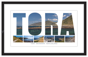 TORA WORDS COASTAL MONTAGE