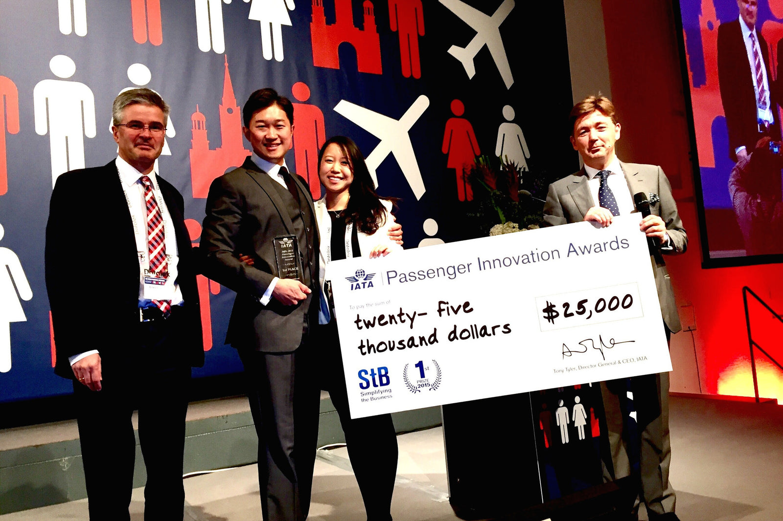 Soarigami is the winner of the Passenger Innovation Awards by IATA.