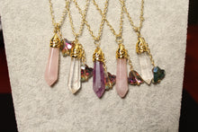 Load image into Gallery viewer, Natural Quartz Necklace