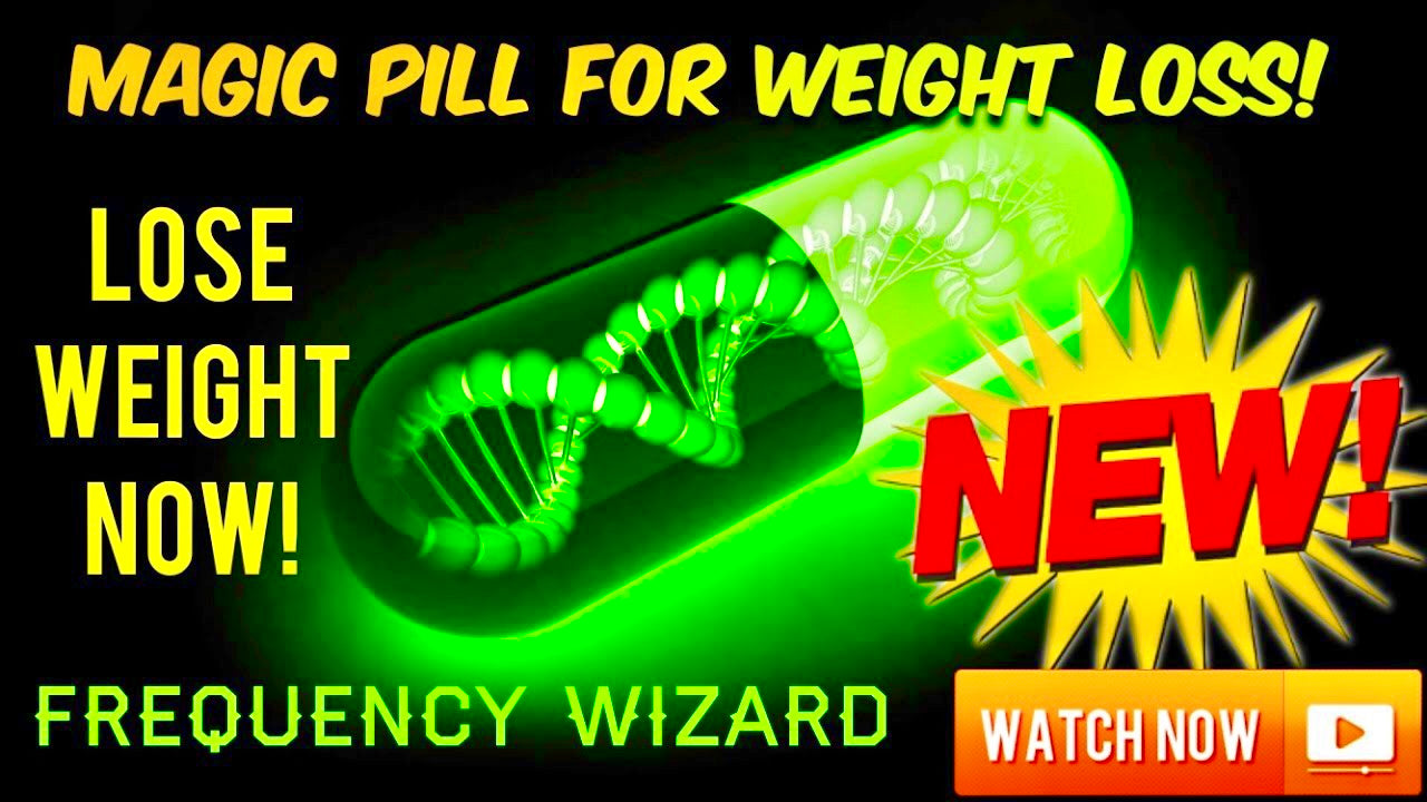 AMAZING MAGIC WEIGHT LOSS PILL SUBLIMINAL! WARNING: EXTREMELY POWERFUL! BE SLIM SLENDER LEAN!