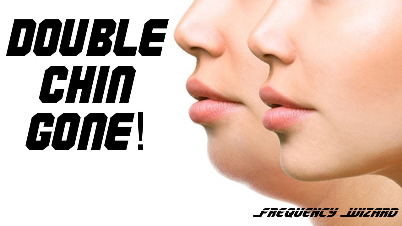 Eliminate Double Chin : Get Slim Jaw line Fast! Frequency Wizard