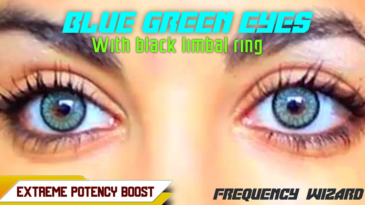GET BLUE GREEN EYES WITH BLACK RING FAST! BINAURAL BEATS FREQUENCY WIZARD