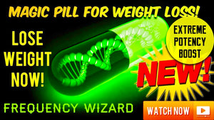 AMAZING MAGIC WEIGHT LOSS PILL SUBLIMINAL! WARNING EXTREMELY POWERFUL! BE SLIM SLENDER LEAN! FREQUENCY WIZARD