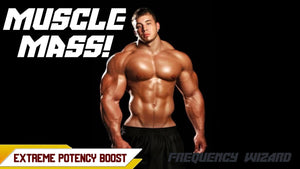 BUILD MUSCLE MASS FAST! SUBLIMINAL FREQUENCY WIZARD