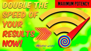 DOUBLE THE SPEED OF YOUR RESULTS NOW! Works for ALL Formulas  Channels! FREQUENCY WIZARD!