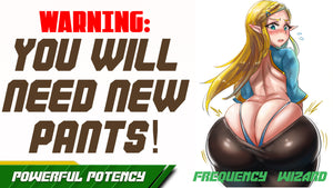 GET A BUTT SO BIG THAT YOU WILL NEED A WHOLE NEW PANTS WARDROBE - FREQUENCY WIZARD