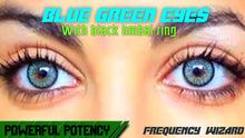 Load image into Gallery viewer, GET BLUE GREEN EYES WITH BLACK RING FAST! BINAURAL BEATS FREQUENCY WIZARD