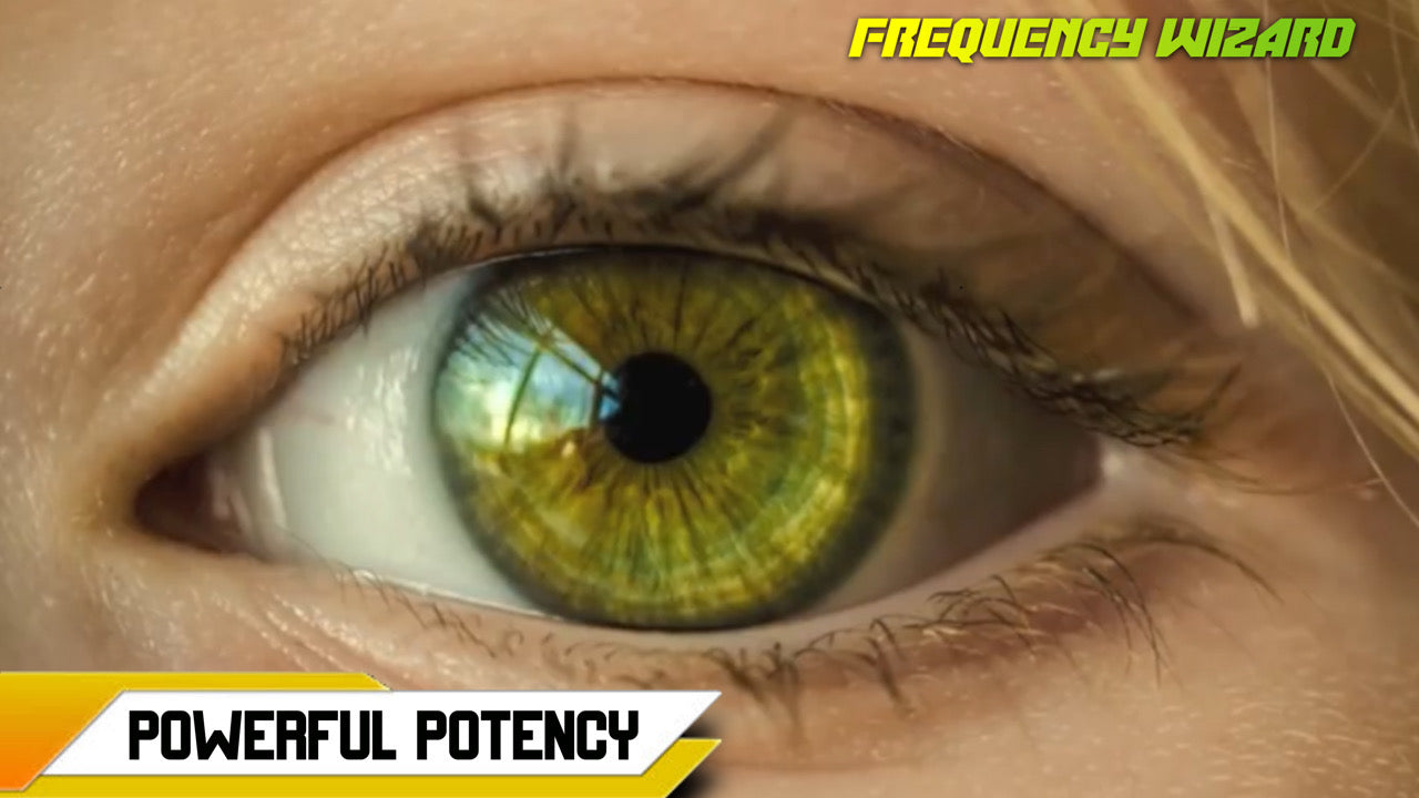 GET MULTI-RING MULTI-SHADE YELLOW GREEN EYES FAST! - FREQUENCY WIZARD