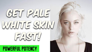 GET PALE WHITE SKIN FAST! SUBLIMINALS THETA FREQUENCIES HYPNOSIS - FREQUENCY WIZARD