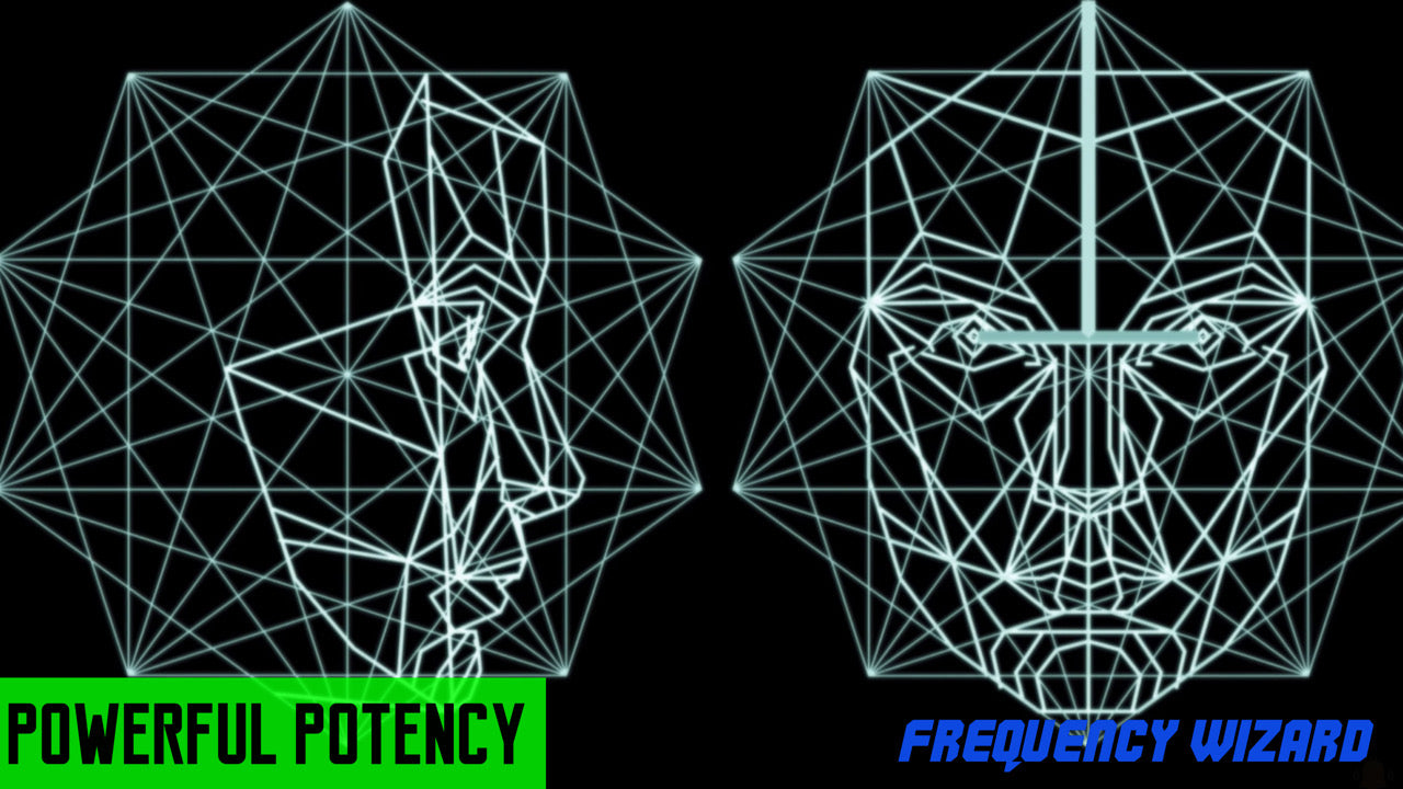 GET PERFECT FACIAL SYMMETRY FAST! SUBLIMINALS & FREQUENCIES HYPNOSIS SPELL - FREQUENCY WIZARD