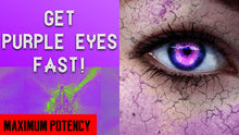 Load image into Gallery viewer, GET PURPLE EYES FAST!! SUBLIMINALS FREQUENCIES HYPNOSIS SPELL BIOKINESIS - FREQUENCY WIZARD