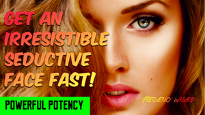 GET AN IRRESISTIBLE SEDUCTIVE BEAUTIFUL FACE! SUBLIMINAL AFFIRMATIONS FREQUENCY HYPNOSIS MEDITATION - FREQUENCY WIZARD