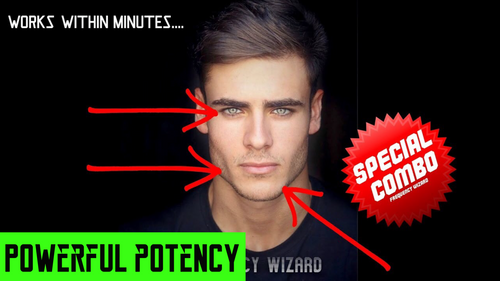 GET A CHISELED JAWLINE, PROPER TONGUE POSTURE, NECK MUSCLES, HOLLOW CHEEK BONES & LIGHTER EYES FAST! FORCED SUBLIMINAL FREQUENCY WIZARD