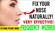 Load image into Gallery viewer, ⚡️GET A NATURAL RHINOPLASTY FAST! FIX YOUR NOSE NATURALLY! SUBLIMINAL AFFIRMATIONS FREQUENCY WIZARD!