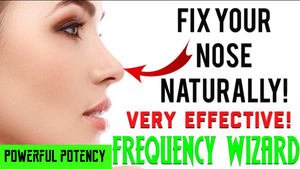 ⚡️GET A NATURAL RHINOPLASTY FAST! FIX YOUR NOSE NATURALLY! SUBLIMINAL AFFIRMATIONS FREQUENCY WIZARD!