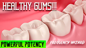 GET HEALTHY GUMS FAST! PREVENT / ELIMINATE GINGIVITIS, PERIODONTITIS, BLEEDING, SWELLING AND SENSITIVITY! SUBLIMINAL FREQUENCY WIZARD