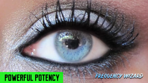 GET METALLIC SILVER SKY BLUE EYES FAST! CHANGE EYE COLOR NATURALLY - HYPNOSIS SUBLIMINAL - FREQUENCY WIZARD