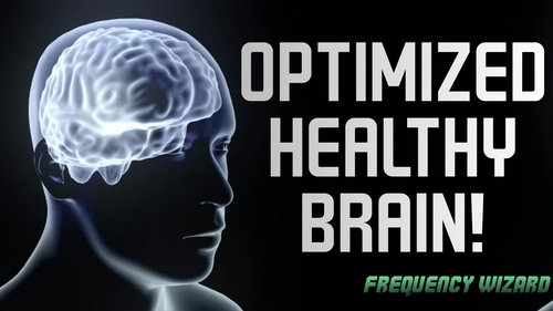 GET OPTIMAL BRAIN HEALTH! ALSO ELIMINATE BRAIN DISEASES & MENTAL ILLNESS - FREQUENCY WIZARD