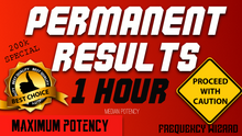 Load image into Gallery viewer, GET PERMANENT SUBLIMINAL RESULTS IN 1 HOUR! PROCEED WITH CAUTION! SUBLIMINAL FREQUENCY WIZARD - MEDIAN POTENCY - FREQUENCY WIZARD
