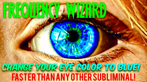 GET STRIKING BLUE EYES FASTER THAN ANY OTHER SUBLIMINAL! BIOKINESIS BINAURAL BEATS MEDITATION - FREQUENCY WIZARD