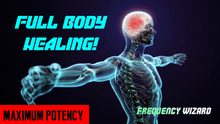 Load image into Gallery viewer, GET WHOLE BEING REGENERATION FAST! - FULL BODY HEALING! Binaural Beats Frequencies Hypnosis