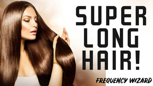 GROW SUPER LONG HAIR FAST! SUBLIMINALS FREQUENCIES THETA HYPNOSIS - FREQUENCY WIZARD