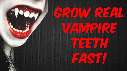 GROW VAMPIRE FANGS FAST! SUBLIMINALS FREQUENCIES HYPNOSIS SPELL - FREQUENCY WIZARD