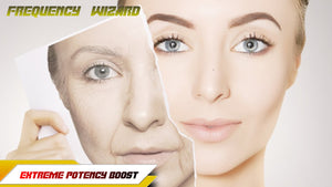 Get A Younger Face Fast! Reverse Facial Aging - Frequency Wizard